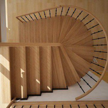 Elegantiški laiptai ant metalinės konstrukcijos MT 51