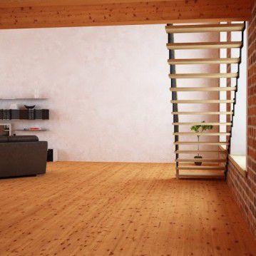 Tiesūs išlengvinti mediniai laiptai SA 06