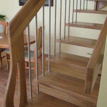 Sąvaržiniai išlengvinti laiptai SA 25