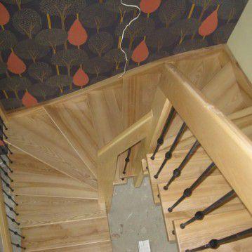 Sąvaržiniai išlengvinti laiptai SA 18