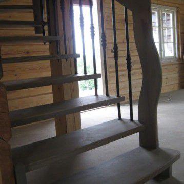 Mediniai sąvaržiniai laiptai SA 38