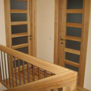 Sąvaržiniai laiptai sunerūdijančio plieno tvorele SA 79