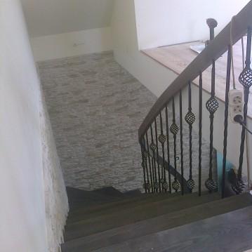 Laiptai ant metalinės sijos MT 56