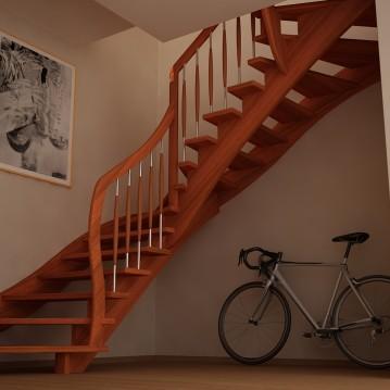 mediniai laiptai ME 01a
